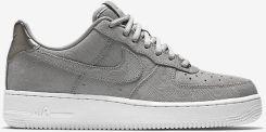 buty damskie nike air force zamszowe siwe