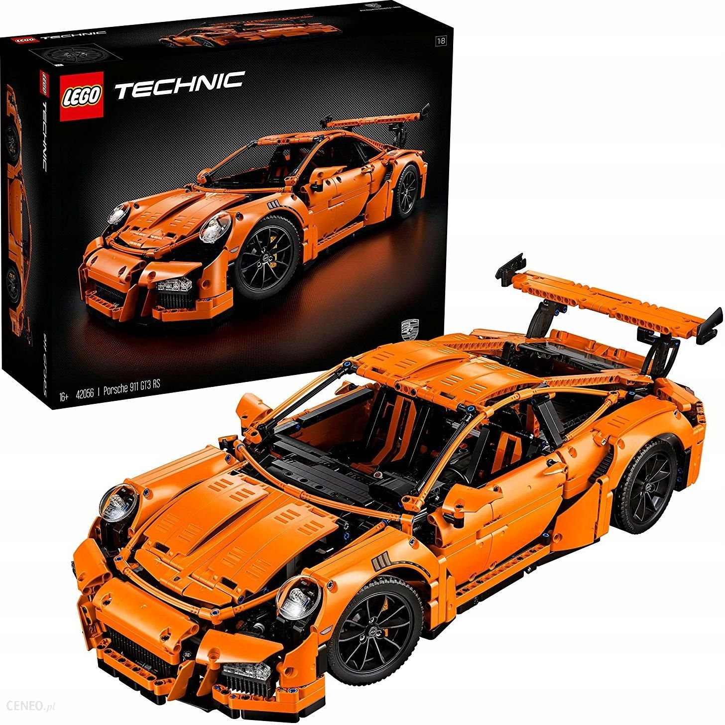 klocki lego technic porsche 911 gt3 rs 42056 ceny i. Black Bedroom Furniture Sets. Home Design Ideas