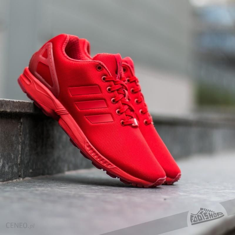 adidas ZX Flux Red Red Red