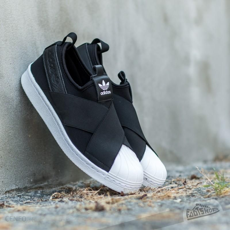 adidas Superstar Slip On W Black Ftw White