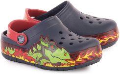 CROCS Crocs Lights Fire Dragon Klapki Dziecięce 202661 410