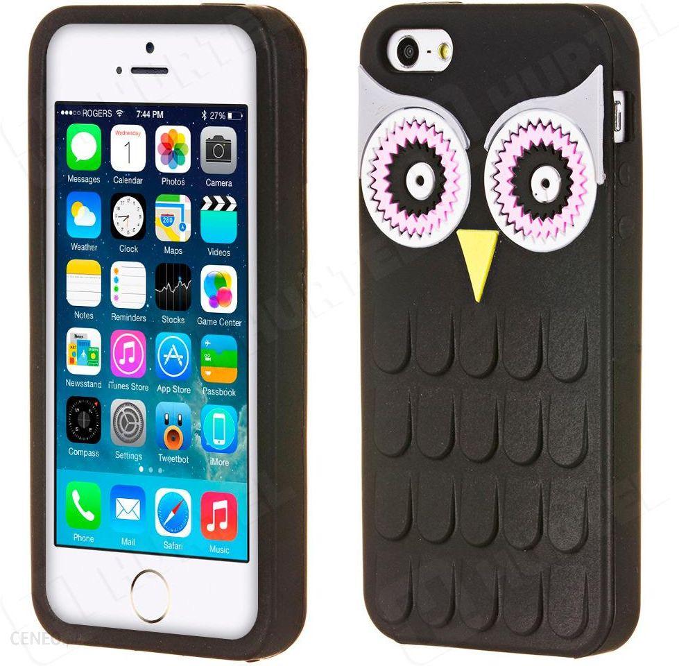 Wozinsky 3d Case Elowe Iphone Se 5s 5 Sowa Czarny Opinie I Ceny Baseus Sky Zdjcie 1