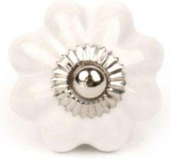 Knaufmanufakur Bialy Kwiatek Ceramiczna Galka Do Mebli Opinie I Atrakcyjne Ceny Na Ceneo Pl