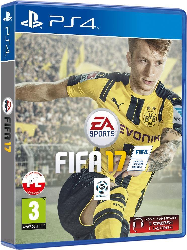 Fifa 17 Gra Ps4 Ceny I Opinie Ceneo Pl