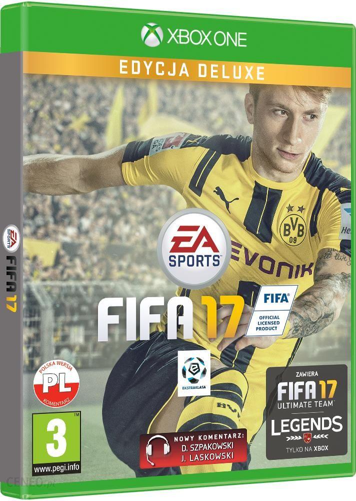 FIFA 17 Deluxe Edition (Gra Xbox One) - Ceny i opinie ...