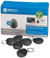 Safescan Rf-110 Rfid Key Fobs Pack 25Pcs