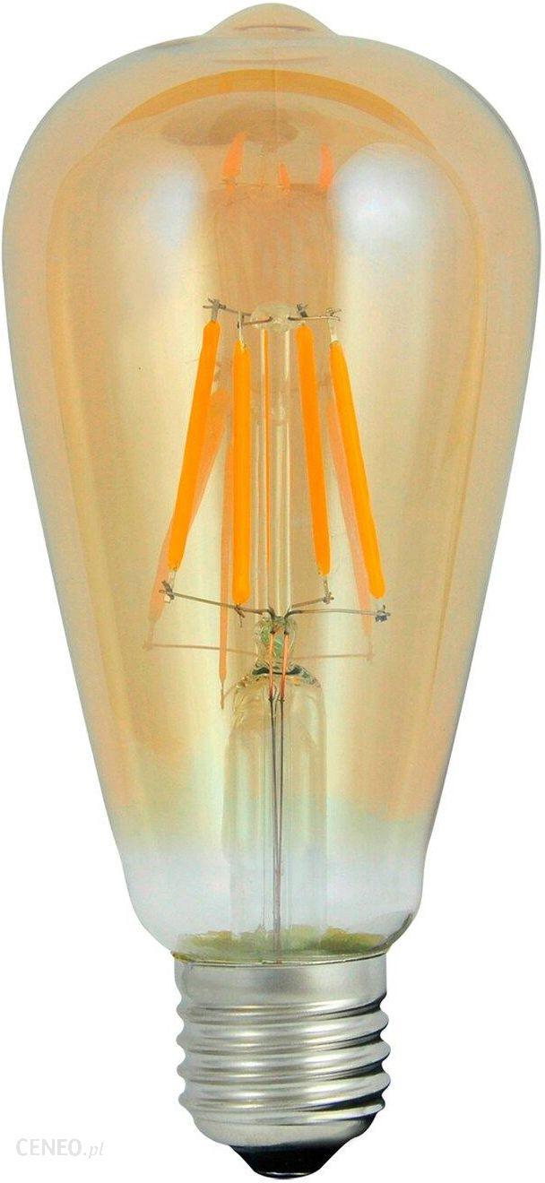 Polux Filament Dekoracyjna Led E27 St64 3,7W Ciepła 304513