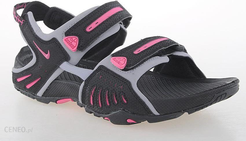 Nike Sandały damskie Santiam 4 czarno różowe r. 38