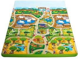 Prince Lionheart Awesome Playmat Mata Edukacyjna City Zoo