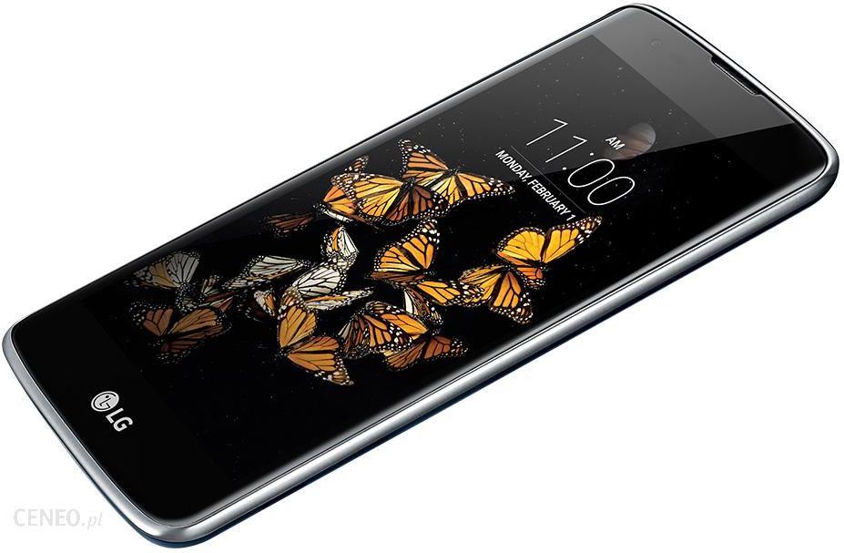Smartfon LG K8 Dual SIM Czarno niebieski LGK350NDS opinie
