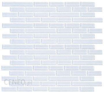 Leroy Merlin Mozaika Crystal Biały 312x287