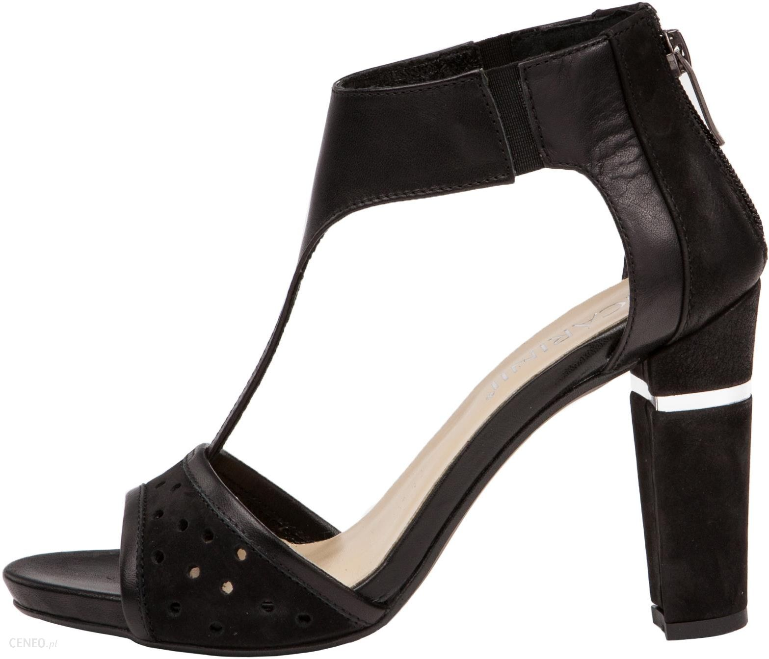 Złote sandały damskie szpilki JEZZI SA124 8 Ceny i opinie