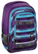 All Out Plecak Szkolny Selby Summer Check Purple (138310)