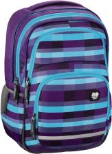 All Out Plecak Szkolny Blaby Summer Check Purple (138304)