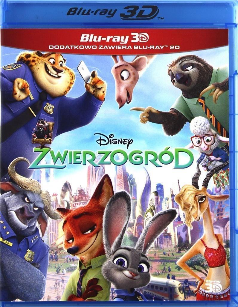Film DVD Zwierzogród 3D (Blu-Ray)
