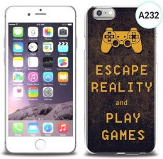 4Kom Etui Silikonowe Z Nadrukiem Iphone 6 Escape Reality And Play Games (1637232)