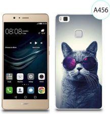 4kom Etui Silikonowe Z Nadrukiem Do Huawei P9 Lite Kot W Okularach