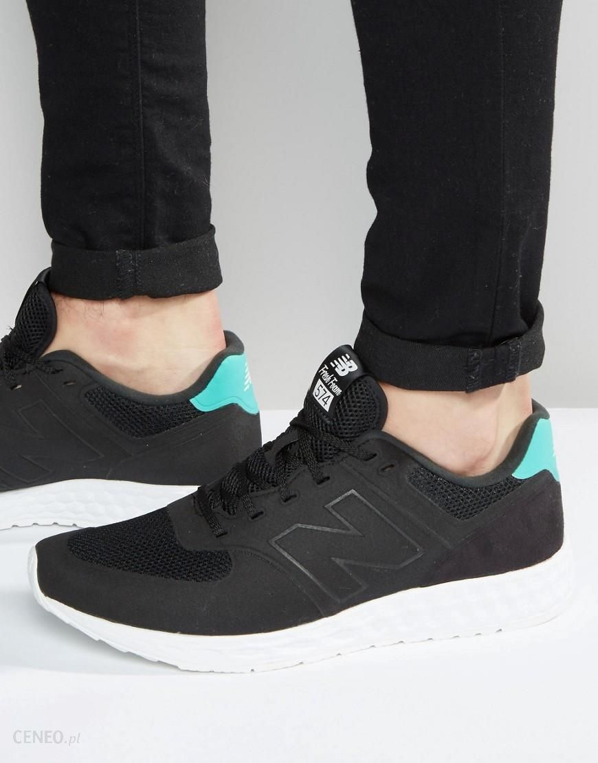 buy online 827e0 d8ea3 New Balance 574 Fresh Foam Trainers - Black - Ceneo.pl