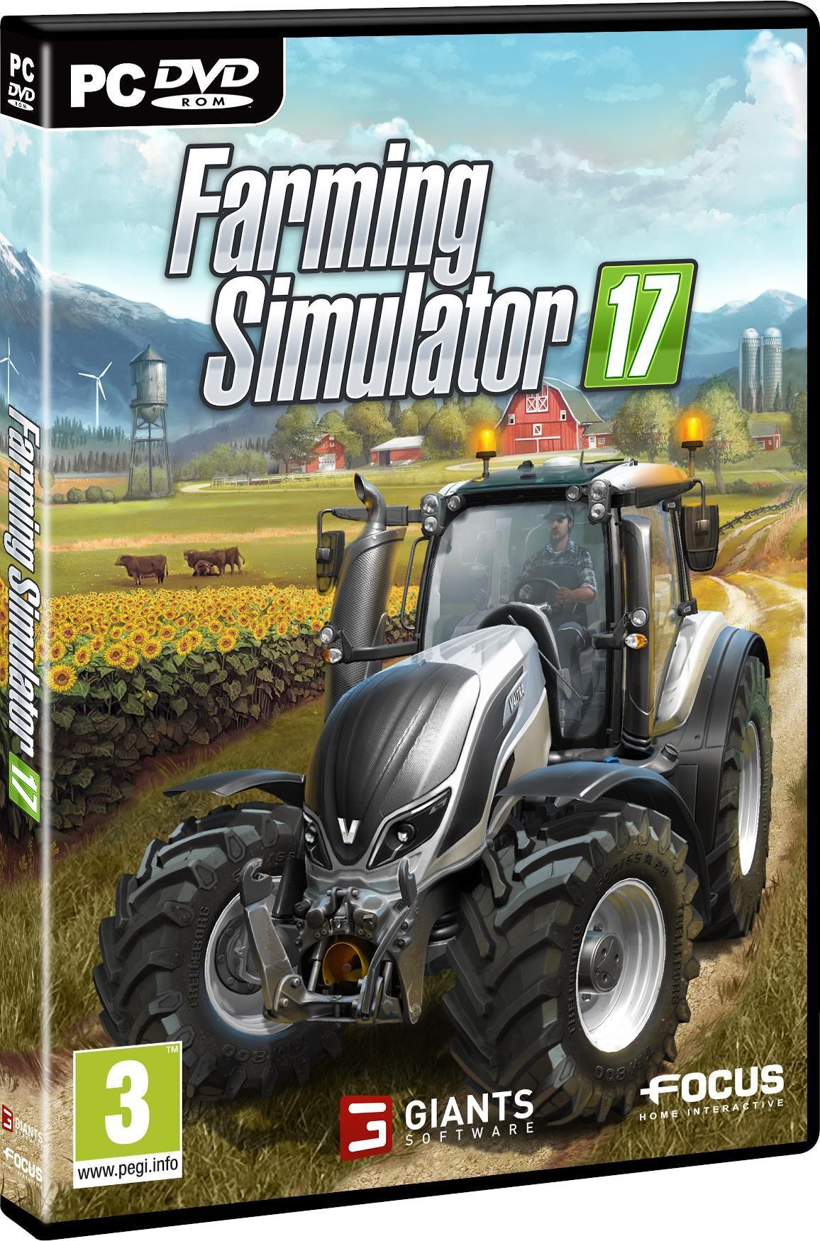 farming simulator 17 gra pc od 54 90 z. Black Bedroom Furniture Sets. Home Design Ideas