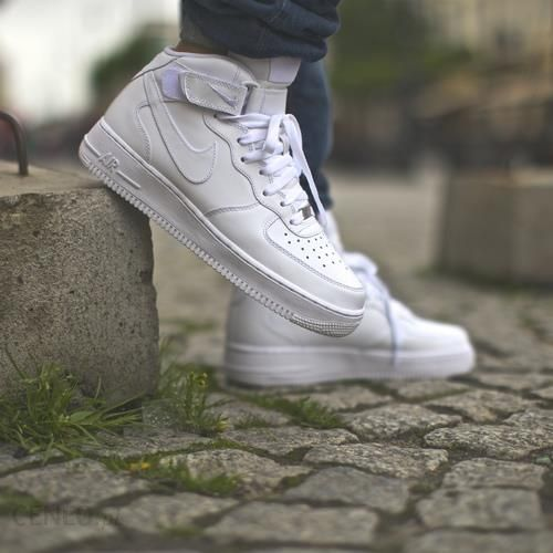 Buty Nike Air Force 1 Mid 07 All White (315123-111) - Ceny i opinie ... 67a31f18f5