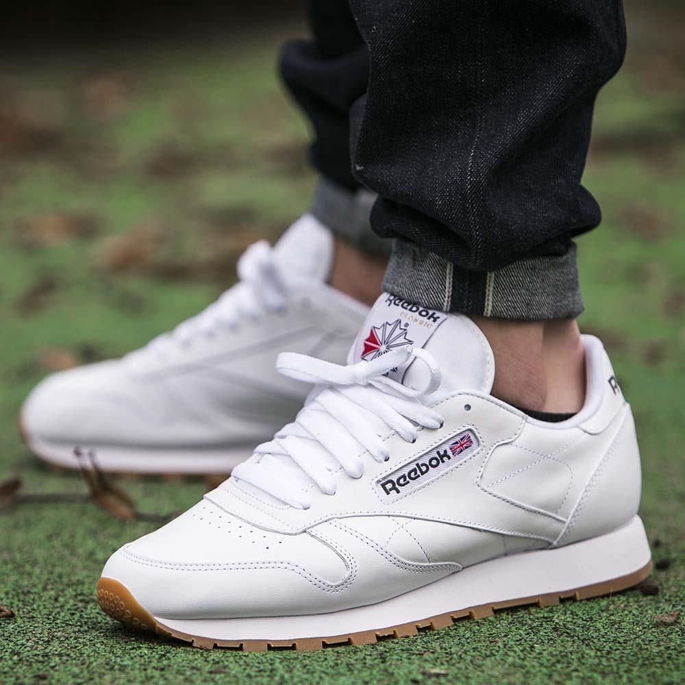 001af0559bf WASTE TO ENERGY. reebok cl leather white gum