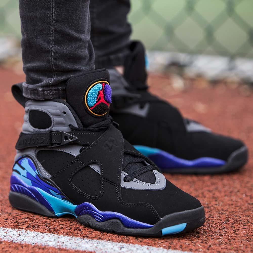 Buty Nike JR AIR JORDAN 8 RETRO BG 305368 025