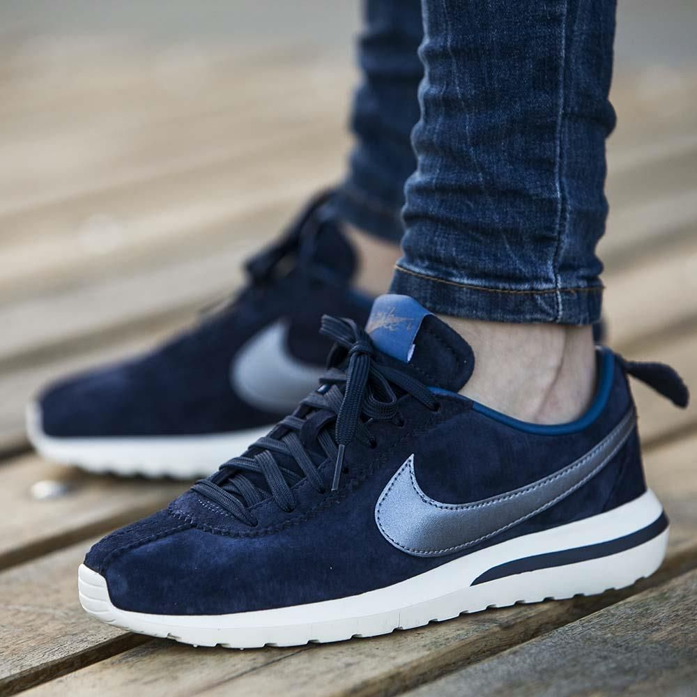 sneakers for cheap 811db d4746 16d31 34cb5 reduced buty nike wmns roshe cortez nm premium suede midnight  navy 819862 400 6ada9 2f625