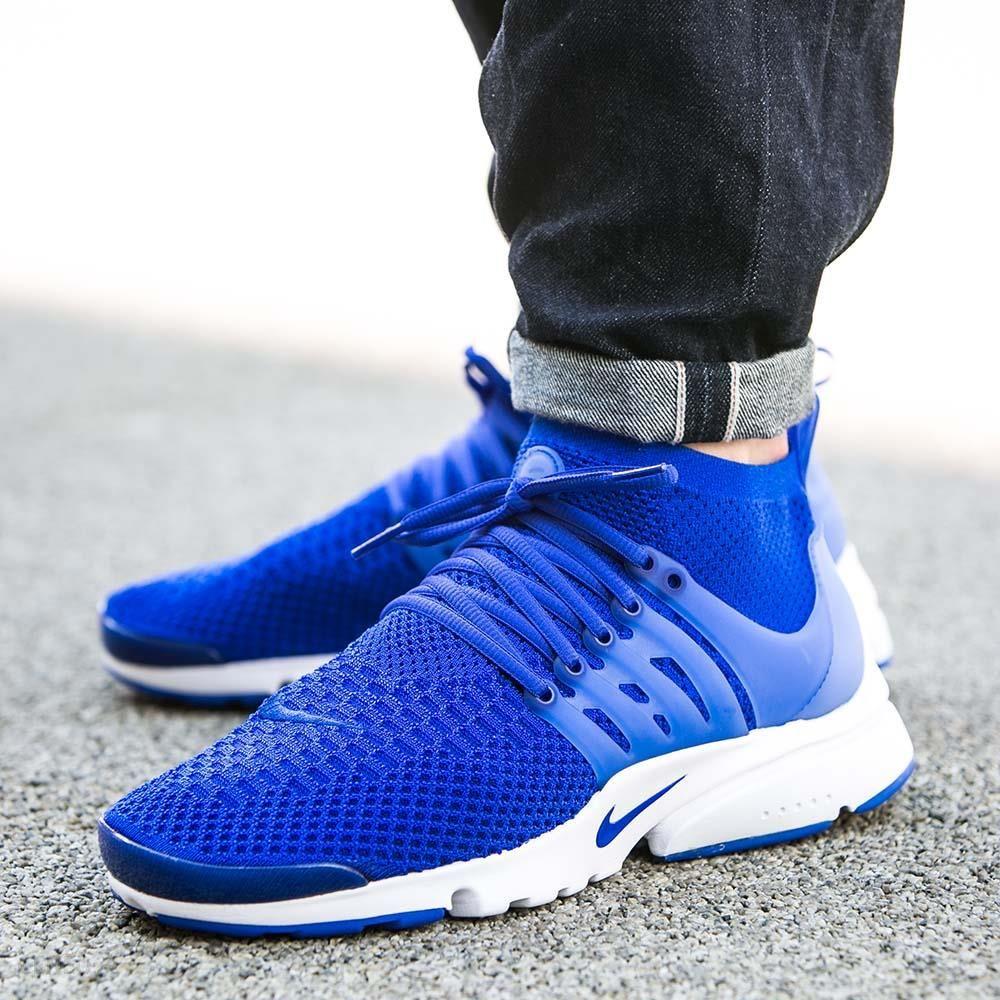 Męskie Nike Air Presto Flyknit Ultra Granatowy Niebieski