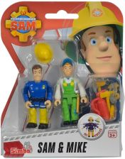 Simba Strażak Sam Zestaw 2 figurek Sam i Mike (4006592976514)