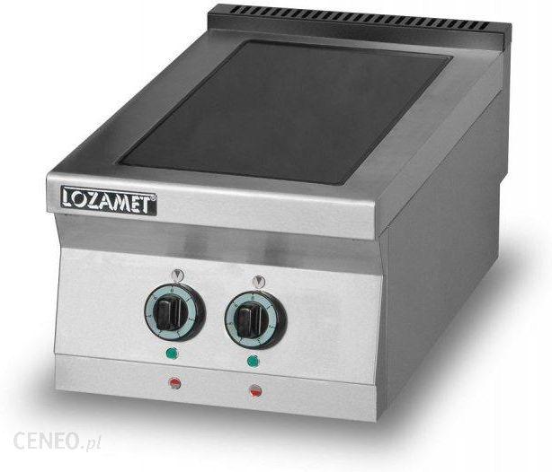 Lozamet Kuchnia Elektryczna Z Płytą Ceramiczną 2 Polową L900kec2 L900kec2