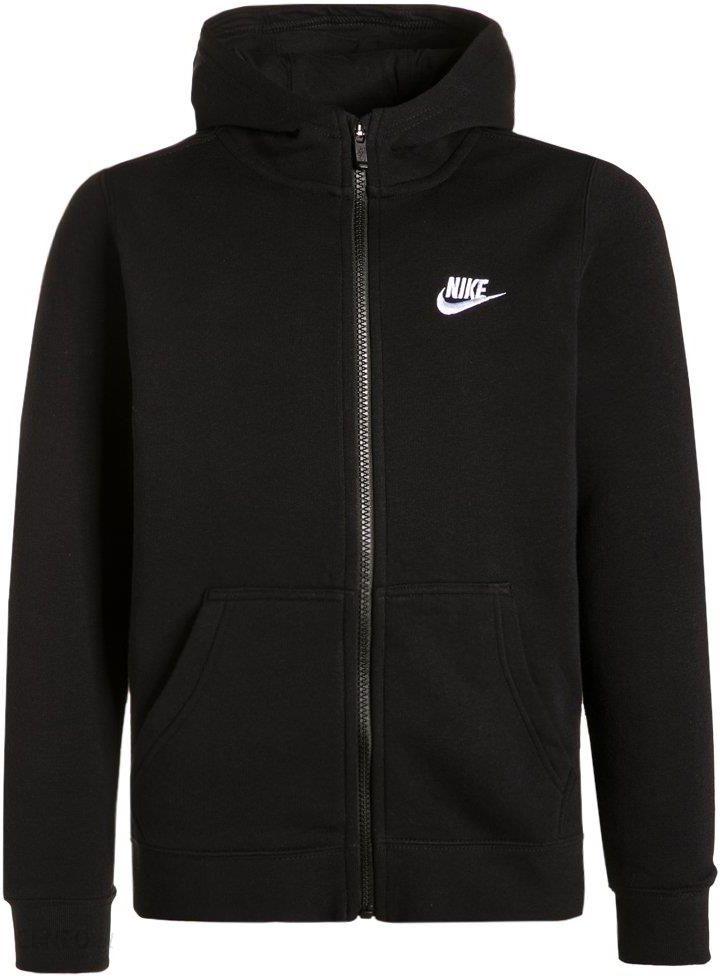 Nike Performance CLUB Bluza rozpinana blackwhite