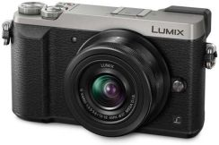 Panasonic Lumix DMC-GX80 Srebrny + 14-42mm