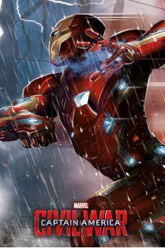 Łóżko pojedyncze Iron Man