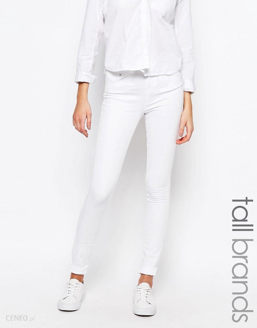 Waven Tall Freya Skinny Jeans White Ceneo.pl
