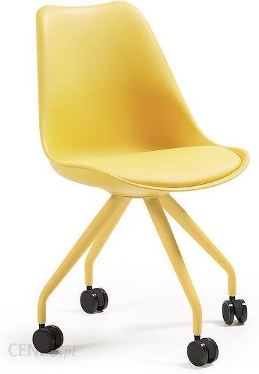 Laforma Krzesło Obrotowe Lars Żółte C975U31