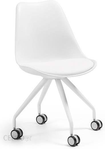 Laforma Krzesło Obrotowe Lars Białe C975U05