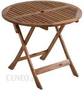 Leroy Merlin Stół Ogrodowy Eden śr 90 Cm Lmc10531612