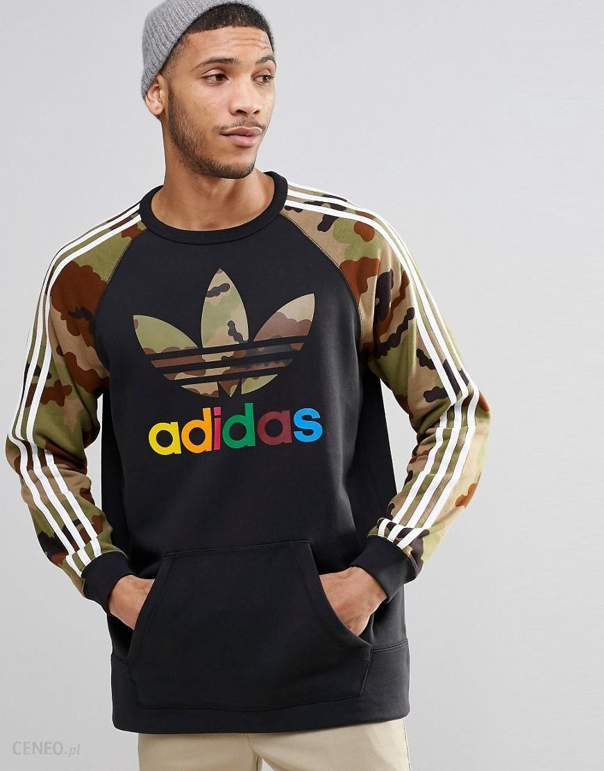 adidas Originals Camouflage Crew Sweatshirt Black