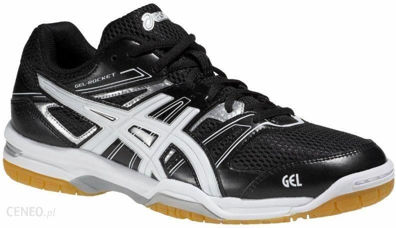 Buty siatkarskie męskie Gel Rocket 7 Asics (czarno białe