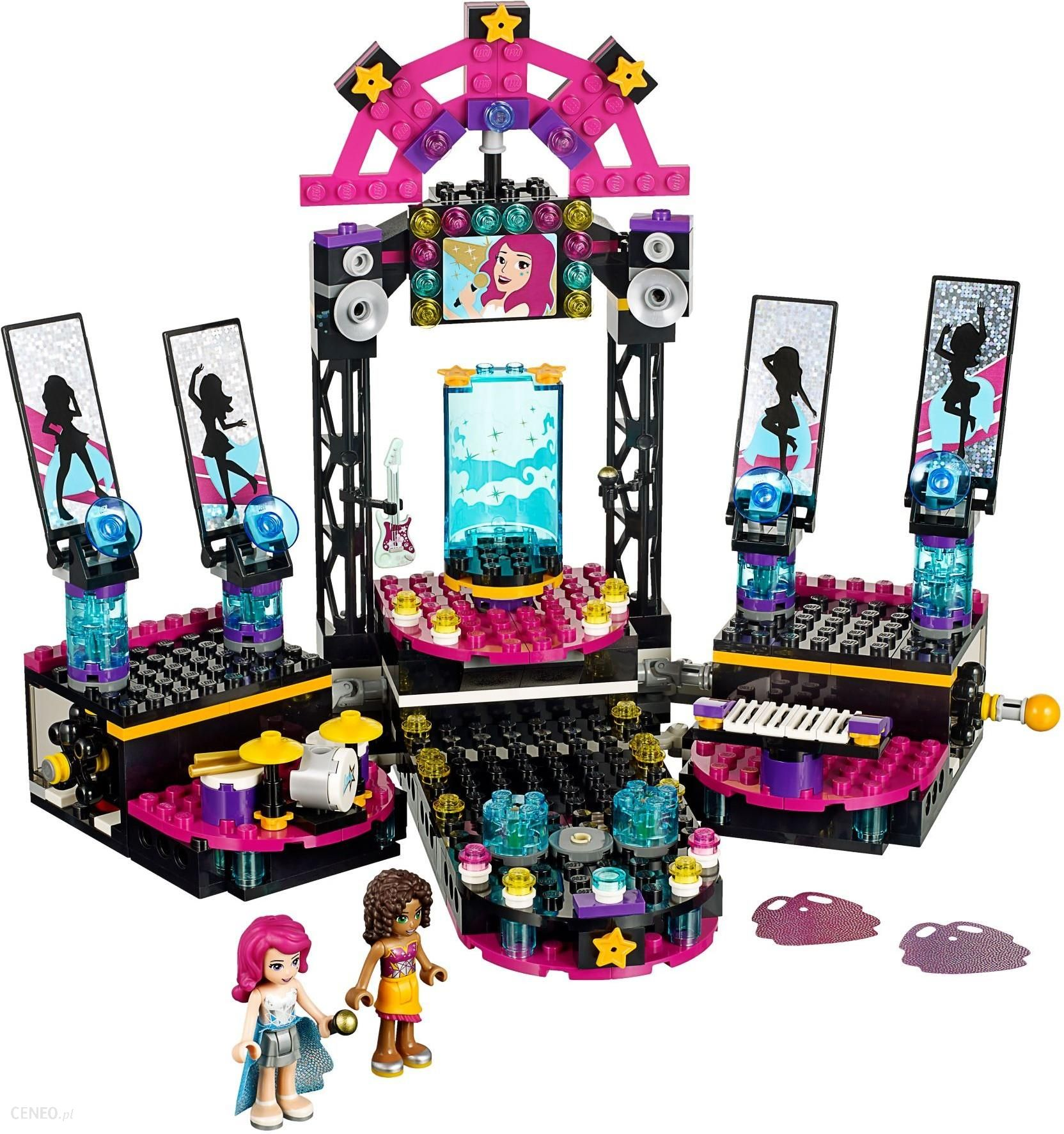 Klocki Lego Friends Scena Gwiazdy Pop 41105 Ceny I Opinie Ceneopl