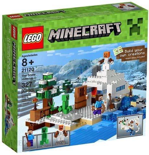 Lego Minecraft Śnieżna kryjówka 21120
