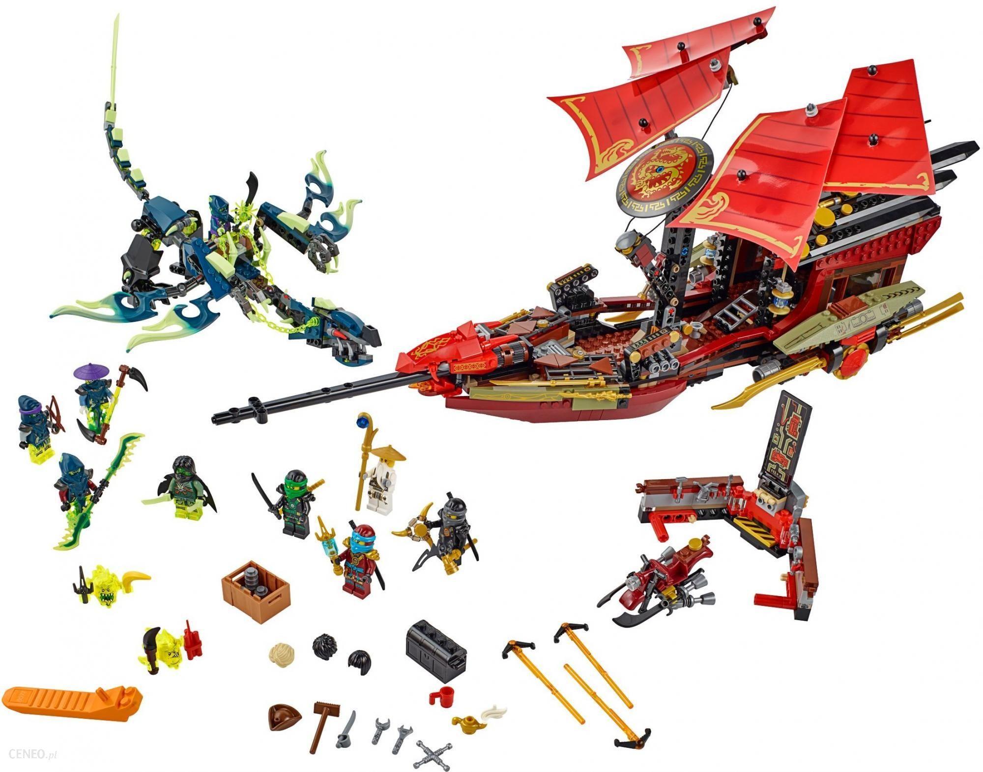 Klocki Lego Ninjago Ostatni Lot Perły Przeznaczenia 70738 Ceny I