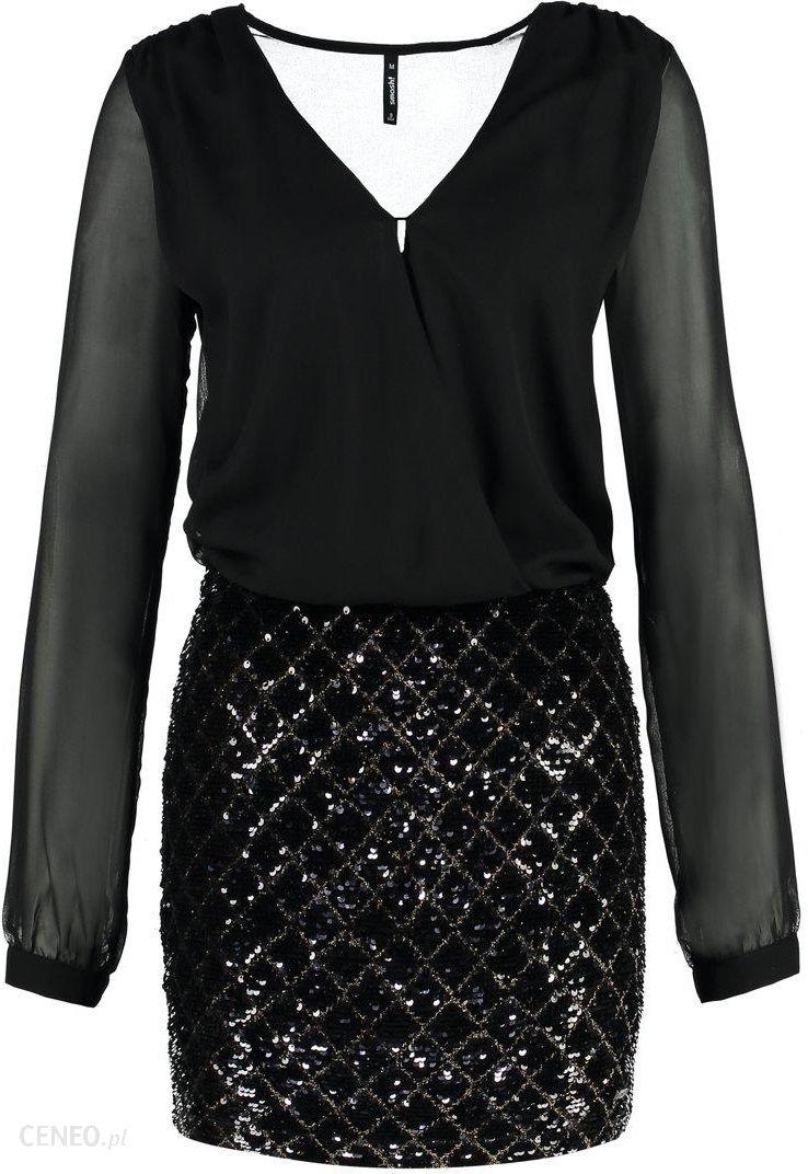 3ca14135c Smash AMILCAR Sukienka letnia black - Ceny i opinie - Ceneo.pl