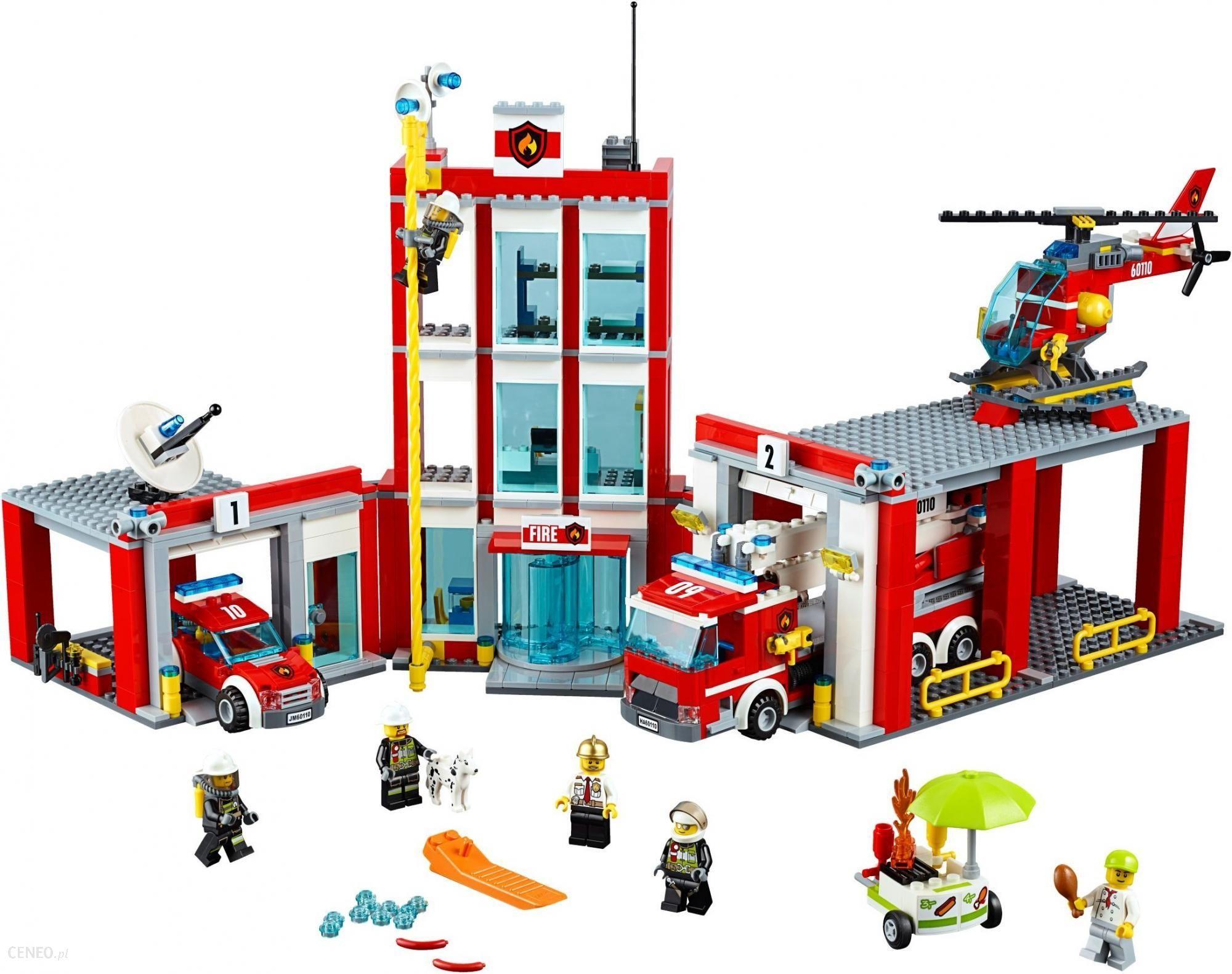 Lego 60110 City Remiza strażacka - ceny i opinie - Ceneo.pl