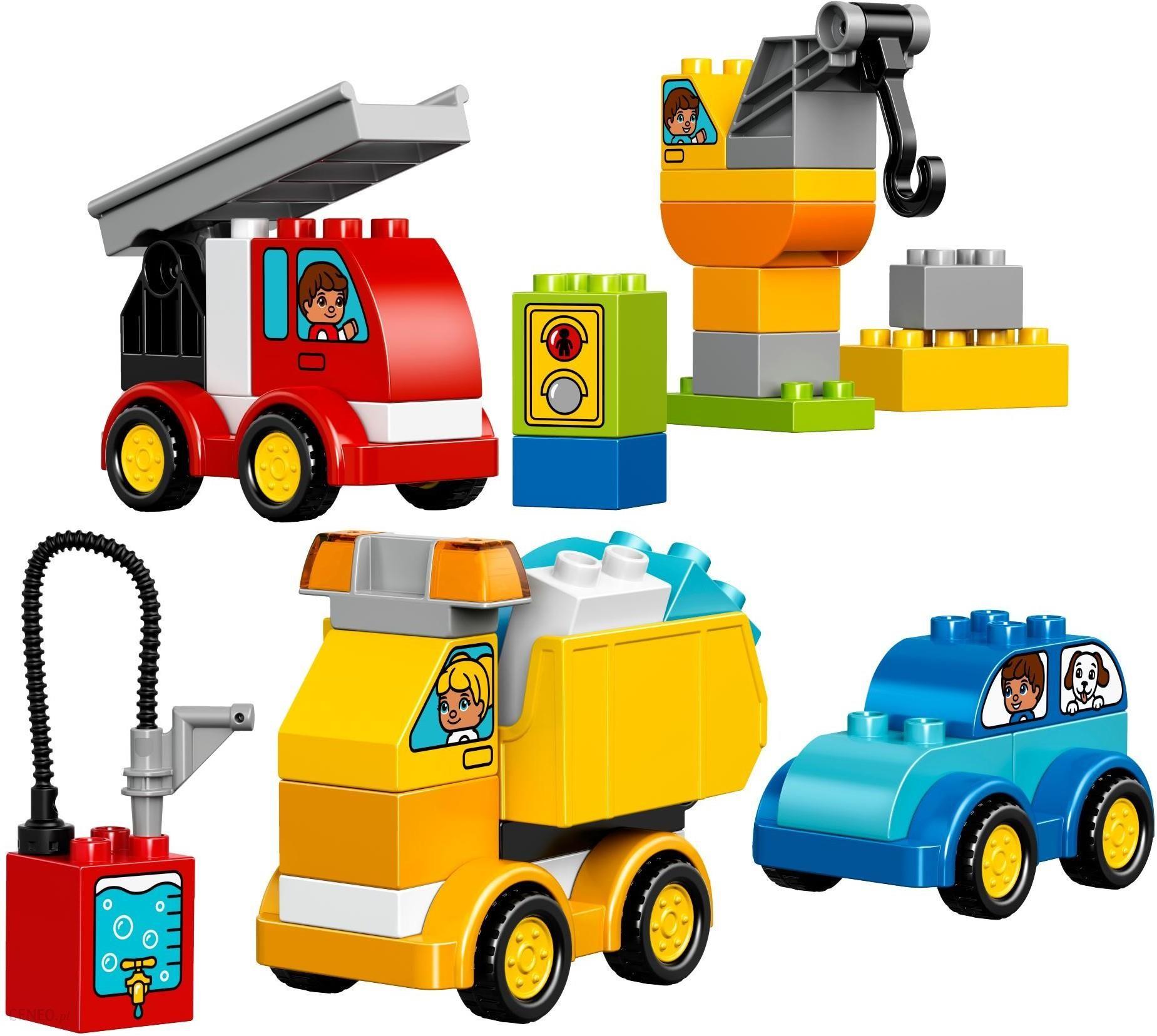 Klocki Lego Duplo Moje Pierwsze Pojazdy 10816 Ceny I Opinie Ceneopl