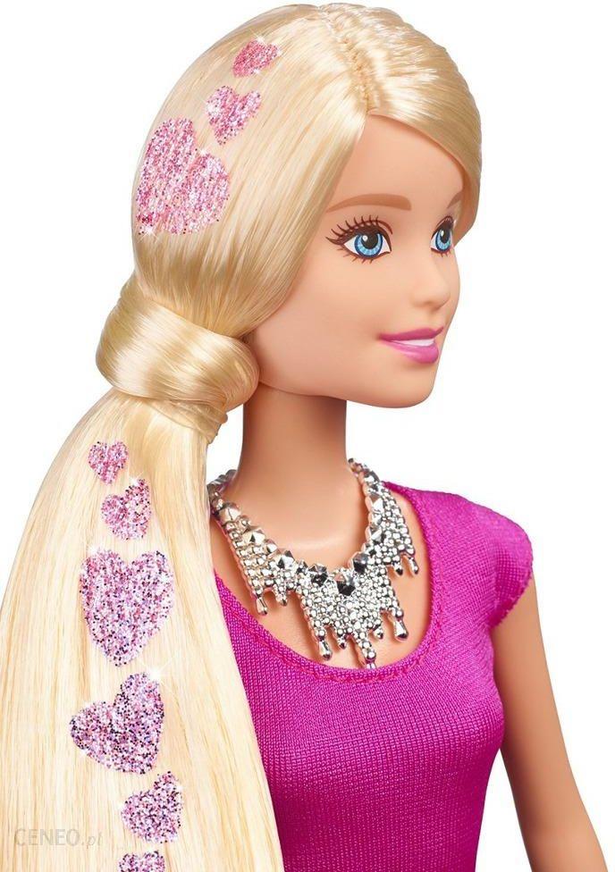 Barbie Lalka Brokatowe Włosy Studio Fryzur Clg18