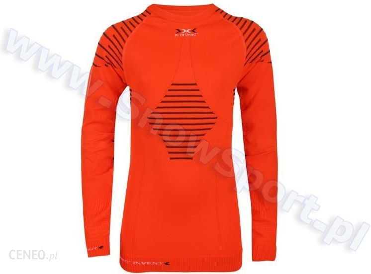 977221b4843699 X-Bionic Koszulka Termoaktywna Invent Junior Pomarańczowa - Ceny i ...