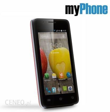 Myphone C Smart Iii Czerwony Cena Opinie Na Ceneo Pl