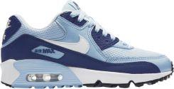 Buty DamskieMęskie Nike Air Max 90 Mesh GS 401 niebieski