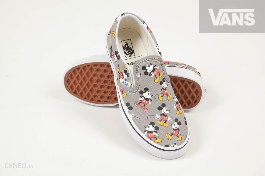BUTY DZIECIĘCE VANS K CLASSIC SLIP ON (Disney) Mickey Mousefrost gray #27